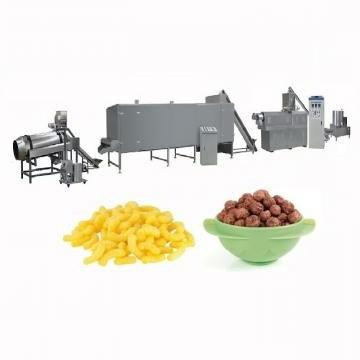Food Grade Stainless Steel Corn Flour Snack Food Extruder Machinery