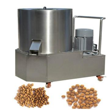 Double Screw Extruder Stainless Steel One Ton Per Hour Capacity Dog Food Making Machine