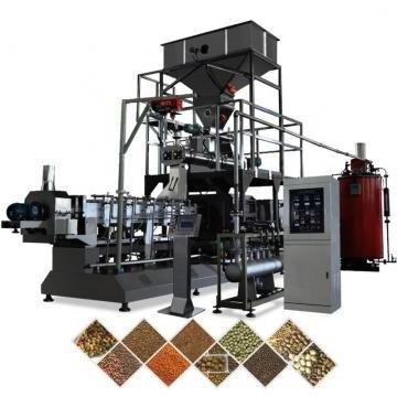 Continuous Automatic Extruded Pet Snacks Food Machinery with Factory Price for Small Business
