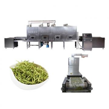 Fresh vegetable microwave dehydration machine with CE certification